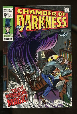 CHAMBER OF DARKNESS #1 VERY FINE- 7.5 1969 MARVEL COMICS #stp-96