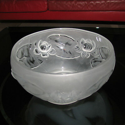 Art Deco Pressglass Bowl, Art Deco Pressglas Schüssel
