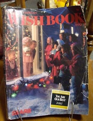 Vintage Sears 1990 Christmas Wish Book Catalog