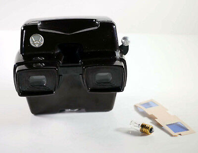 View-Master MODEL D viewer (Chinese v.) serviced by DrT + LED bulb - THE BEST!
