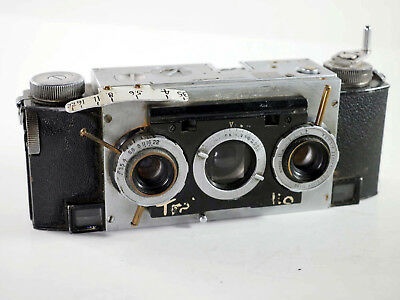 Unusual Stereo Realist camera with Custom features, one of a kind!