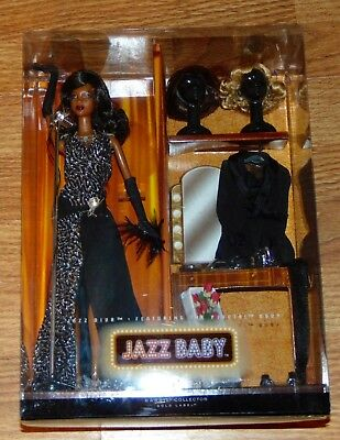 BARBIE Boxed Black Doll JAZZ BABY DIVA Pivotal Body