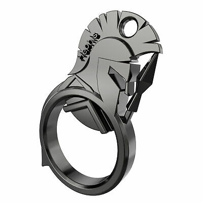 Hephis Keychain Bottle opener Spartan Warrior Key Ring Cap Cutter Silver Gift US