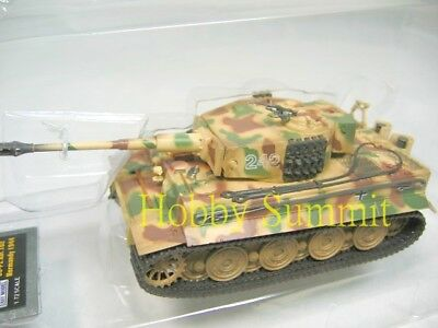 1/72 German WWII TIGER 1  Late Type Normandy1944 Pz Abt 102   Painted Model Tank