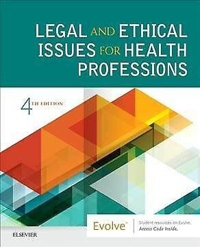 Legal and Ethical Issues for Health Professions, Paperback by Nguyen, Jaime, ...