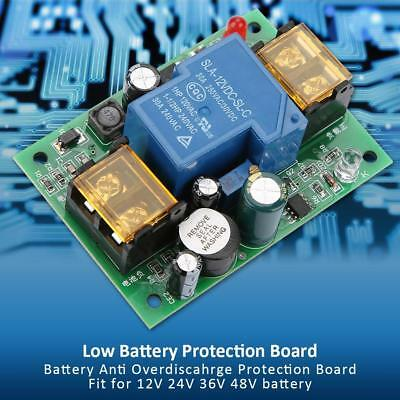 Anti-Over Discharge Low Voltage Alarm Protection Board for 12/24/36/48V Battery
