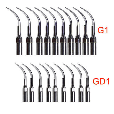 10*Dental Scaler Tip fit EMS WOODPECKER/ DTE SATELEC Scaler Handpiece Dentista