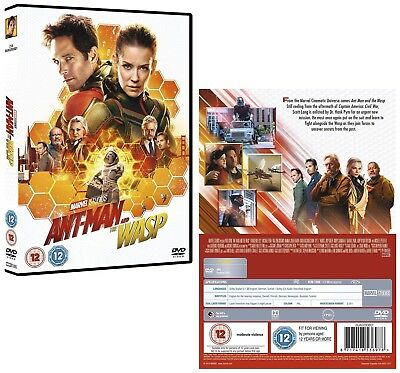 ANT-MAN (2018 - 2) AND THE WASP: MARVEL, Action -  NEW  Eu  Rg2  2D  DVD