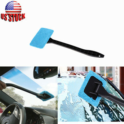 Window Brush Windshield Clean Fast Easy Shine Handy Car Auto Wiper Cleaner Glass