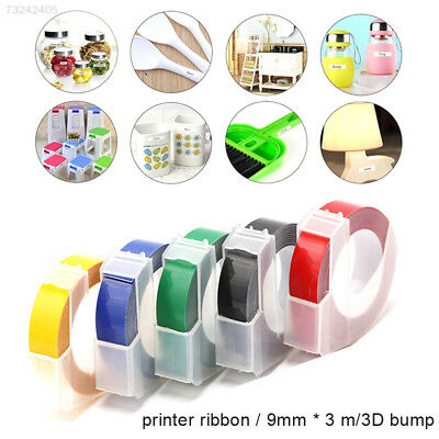 563B PVC Label Printer Tape Sticker Tape Waterproof Home Label Machine Ribbon