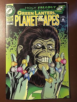 DC / Boom comics:  PLANET OF THE APES / GREEN LANTERN # 6 classic cover variant