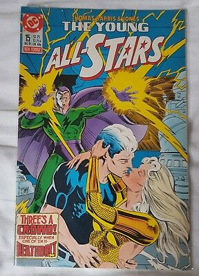 The Young All-Stars # 15 - Aug 1988 - Very Good Condition Copy