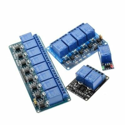 5V 1 2 4 8 channel relay module with optocoupler. Relay Output 1 2 4 8 way relay