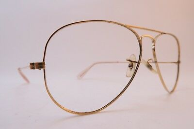 Vintage B&L Ray Ban eyeglasses frames aviator size 58-14 made in the USA