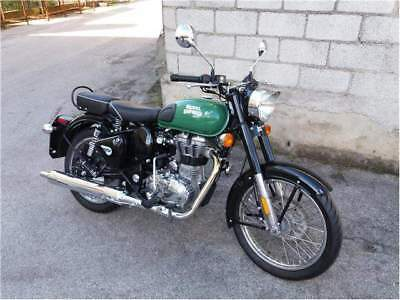 New royal enfield bullet 500 efi verde pastello