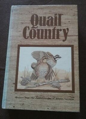quail country cookbook recipes from Junior League of Albany Georgia dated 1983