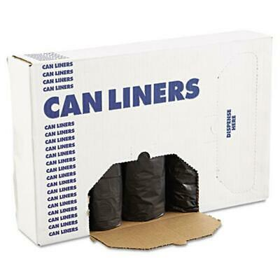 Boardwalk 3858H Low Density Can Liners - Black 60 Gallon