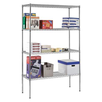 Sandusky Lee 48 x 18 in. NSF Chrome Wire Shelving