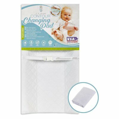 L.A. Baby Combo Pack with Contour Changing Pad and Terry Cover