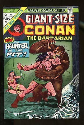 CONAN THE BARBARIAN #2 GIANT SIZE VF/ NM 9.0 1974 MARVEL COMICS #stp-134