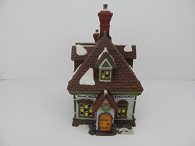 Dept 56 Dickens Village WM. Wheat Cakes & Puddings #58084 Never Displayed