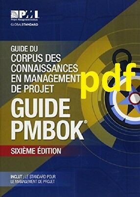 (PDF) A Guide to the Project Management Body of Knowledge (French Edition) [6 ed