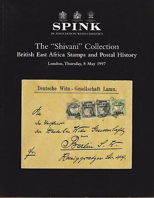 """Auction Catalogue – The """"Shivani"""" British East Africa Collection"""