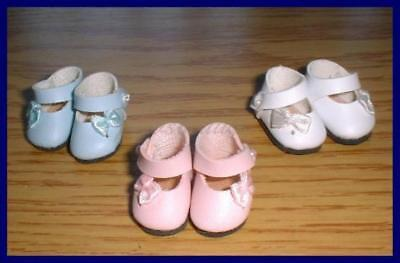 SAVE 15% on 3 Pairs of Side Bow Doll SHOES fit MINI AMERICAN GIRL Riley Pukifee