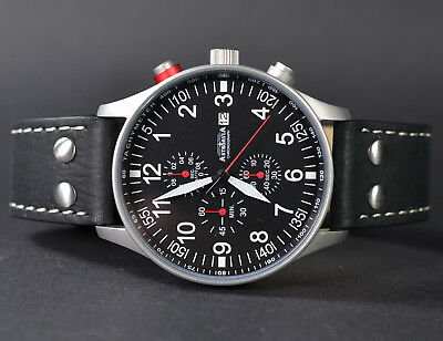 ASTROAVIA XL AIR CRAFT 20L-1 NEW EDITION TOP- CHRONOGRAPH 44mm FLIEGERUHR N57S
