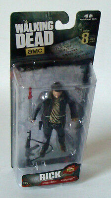 The Walking Dead Series 8 - Rick Grimes 12,5 cm Figur McFarlane 12+ - Neu