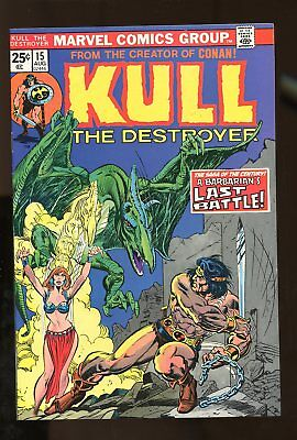 KULL THE CONQUEROR #15 VF/ NM 9.0 1974 MARVEL COMICS #stp-194