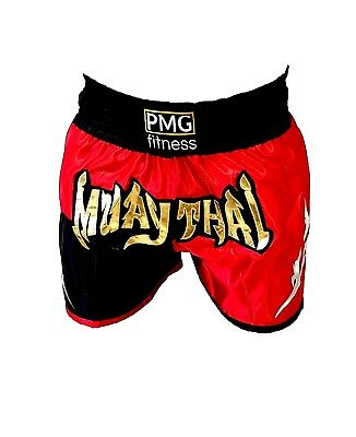 PMG Fitness Muay Thai Kickboxing MMA Fight Shorts