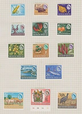 SOUTHERN RHODESIA 95-108 complete set to 1LB mint