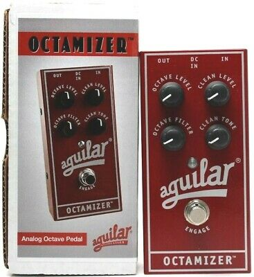 used Aguilar Octamizer Analog Octave, Very Good Condition with Box