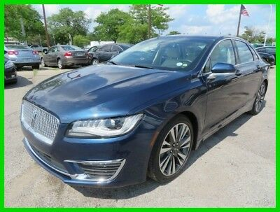 2017 Lincoln MKZ/Zephyr Hybrid Select 2017 Hybrid Select Used 2L I4 16V Automatic FWD Sedan clean clear title carfax