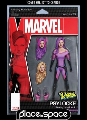 Uncanny X-Men, Vol. 5 #1B - Action Figure Variant (Wk46)