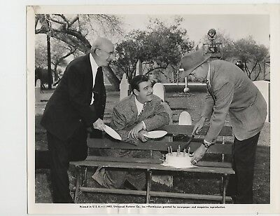 PILLOW OF DEATH 1945 #P1 MacDonald, Lon Chaney, director Wallace Fox CANDID