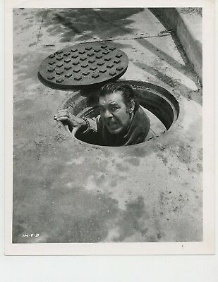 INDESTRUCTIBLE MAN 1956 #04B Lon Chaney leaves storm drain ALLIED ARTISTS ORIG