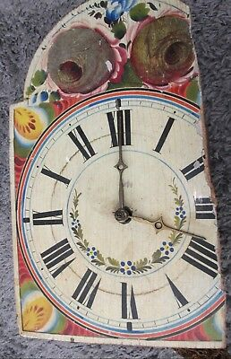 Vintage Grandmother/Daughter Twin Weight Clock Movement