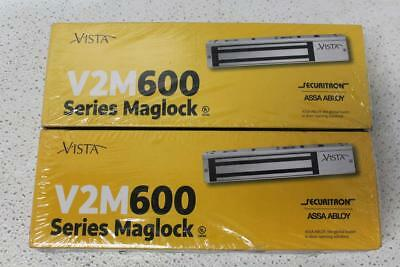 Lot of 2 Securitron 600 Series Magnetic Locks V2M600