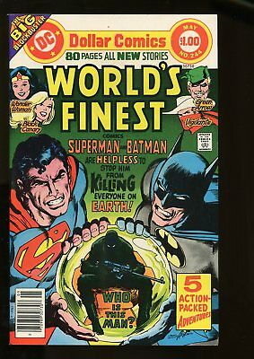 WORLD'S FINEST #244 VERY FINE 8.0 1977 DC COMICS #stp-1009