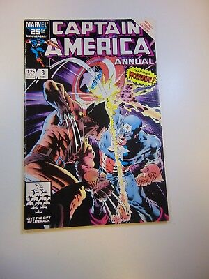 Captain America annual #8 vs. Wolverine VG condition Huge auction going on now!