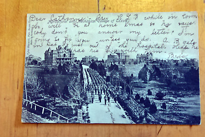 Agricultural & Mechanical College of Texas Antique UDB Postcard  Y23