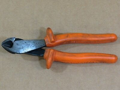 """Klein Tools D2000-48-INS Insulated 8"""" High Leverage Diagonal Cutters,1000V"""