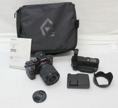 SONY ALPHA a7 II MIRRORLESS DIGITAL CAMERA w/ 28-70mm & more 3084 SHUTTER COUNT