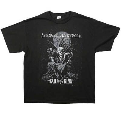 Brand New Men's Avenged Sevenfold End Of Days Printed  Heavy Metal T-Shirt XL