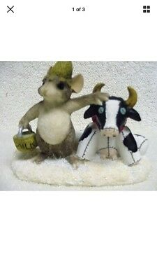 Charming Tales Mouse Figurine Farmer McKenzie by Dean Griff