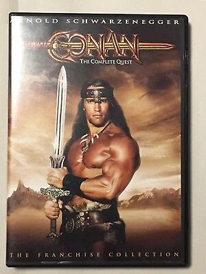 Conan The Complete Quest The Franchise Collection