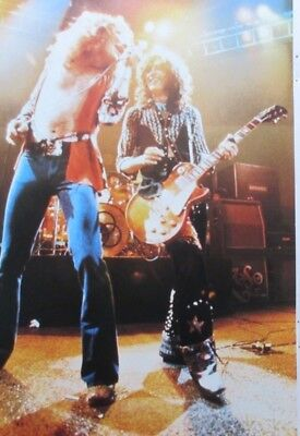 1975 Led Zeppelin Robert Plant Jimmy Page Suzi Quatro Clipping Japan G2 G10