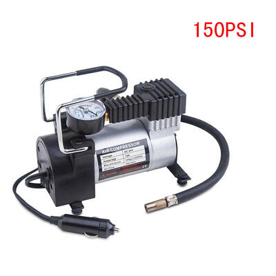 Heavy Duty 12V 150psi Car Tyre Automotive Tire Inflator Pump Air Compressor US